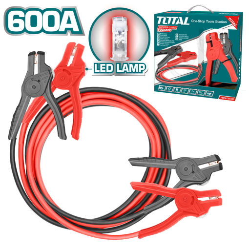 Picture of Booster Cable with LED Light - 600AMP