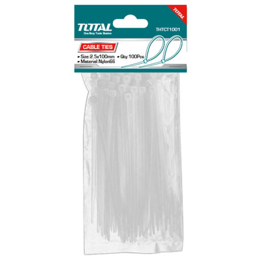 Picture of Cable Tie 2.5mm x 100mm - Pack of 100