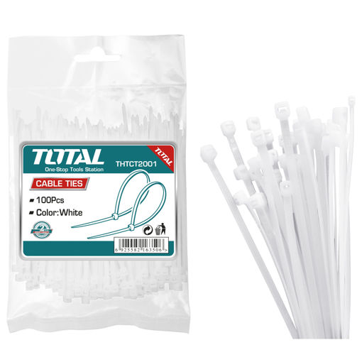 Picture of Cable Tie 3.6mm x 200mm - Pack of 100
