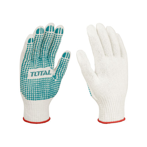 Picture of Knitted and PVC Dots Gloves