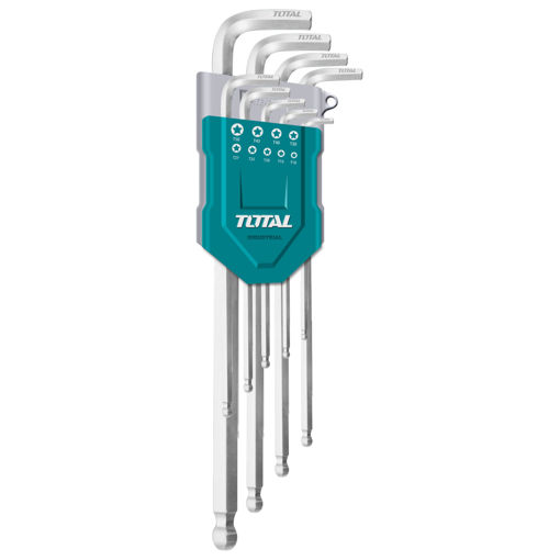 Picture of 9 Piece Hex Set Ball Point Type 1.5mm - 10mm