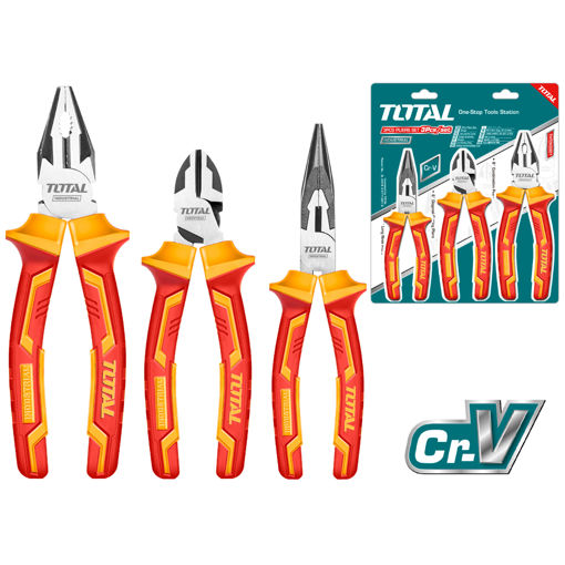 Picture of 3 Piece Plier Set Insulated