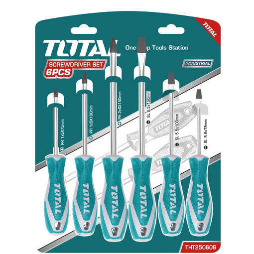 Picture of 6 Piece Screwdriver Set