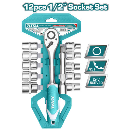 """Picture of 12 Piece 1/2"""" Socket Set"""