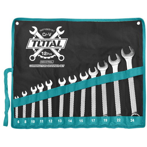 Picture of 12 Piece Combination Spanner Set 6-24mm