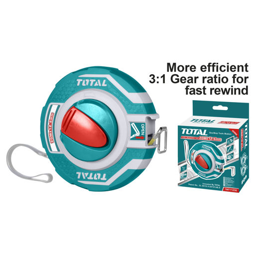 Picture of 20m x 12.5mm Steel Measuring Tape