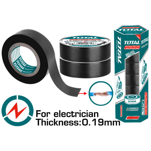 Picture of PVC Insulating Tape  - 10 Piece