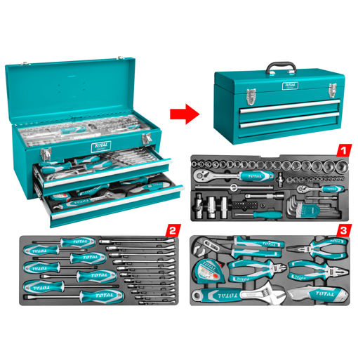 Picture of 97 Piece Tools Chest Set