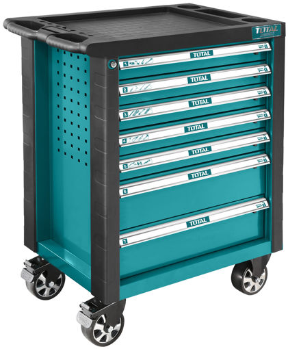 Picture of 7 Drawer Tool Cabinet with 162 Piece Tools