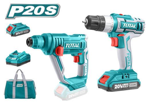 Picture of Lithium-Ion Cordless 2-Pc. Combo Kit ( Cordless Rotary Hammer and Drill)